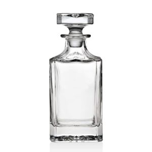 Crystal Whiskey Decanter With Glass Stopper Thumbnail
