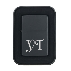 Personalized Matte Black Lighter Thumbnail
