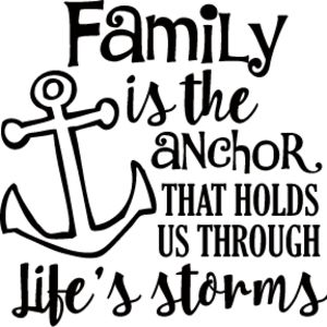 Family is the Anchor Thumbnail